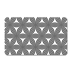 Seamless Pattern Repeat Line Magnet (rectangular)