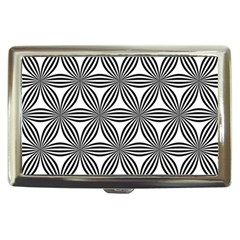 Seamless Pattern Repeat Line Cigarette Money Cases by Nexatart