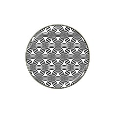 Seamless Pattern Repeat Line Hat Clip Ball Marker (10 Pack)