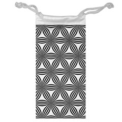 Seamless Pattern Repeat Line Jewelry Bag