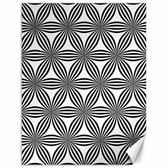 Seamless Pattern Repeat Line Canvas 12  X 16   by Nexatart