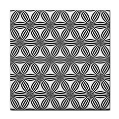 Seamless Pattern Repeat Line Face Towel
