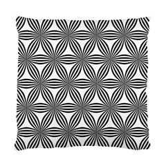 Seamless Pattern Repeat Line Standard Cushion Case (two Sides) by Nexatart