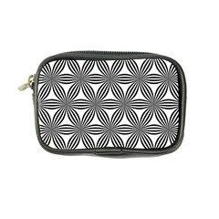 Seamless Pattern Repeat Line Coin Purse