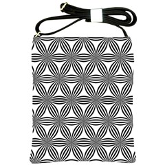 Seamless Pattern Repeat Line Shoulder Sling Bags by Nexatart