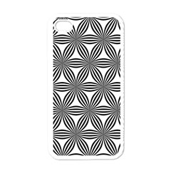 Seamless Pattern Repeat Line Apple Iphone 4 Case (white)