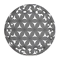 Seamless Pattern Repeat Line Ornament (round Filigree)