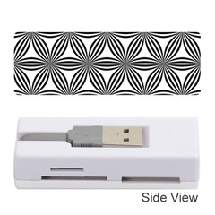 Seamless Pattern Repeat Line Memory Card Reader (stick)