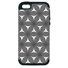 Seamless Pattern Repeat Line Apple Iphone 5 Hardshell Case (pc+silicone) by Nexatart
