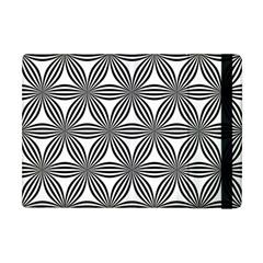 Seamless Pattern Repeat Line Apple Ipad Mini Flip Case