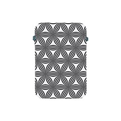 Seamless Pattern Repeat Line Apple Ipad Mini Protective Soft Cases by Nexatart