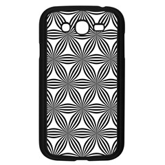 Seamless Pattern Repeat Line Samsung Galaxy Grand Duos I9082 Case (black)