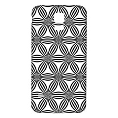 Seamless Pattern Repeat Line Samsung Galaxy S5 Back Case (white)