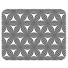 Seamless Pattern Repeat Line Double Sided Flano Blanket (medium)