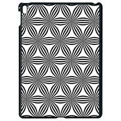 Seamless Pattern Repeat Line Apple Ipad Pro 9 7   Black Seamless Case by Nexatart