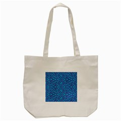 Monogram Blue Purple Background Tote Bag (cream)