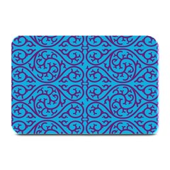 Monogram Blue Purple Background Plate Mats by Nexatart