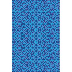 Monogram Blue Purple Background 5 5  X 8 5  Notebooks
