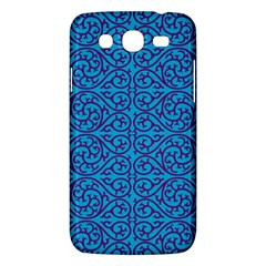Monogram Blue Purple Background Samsung Galaxy Mega 5 8 I9152 Hardshell Case  by Nexatart