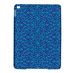 Monogram Blue Purple Background Ipad Air 2 Hardshell Cases by Nexatart