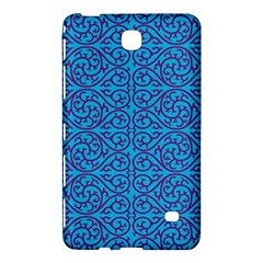 Monogram Blue Purple Background Samsung Galaxy Tab 4 (8 ) Hardshell Case  by Nexatart
