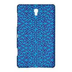 Monogram Blue Purple Background Samsung Galaxy Tab S (8 4 ) Hardshell Case