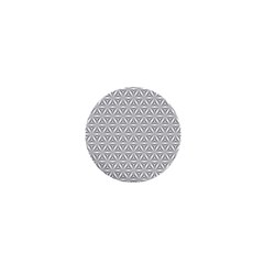 Seamless Pattern Monochrome Repeat 1  Mini Buttons by Nexatart