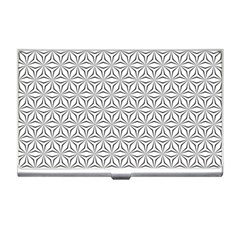 Seamless Pattern Monochrome Repeat Business Card Holders by Nexatart