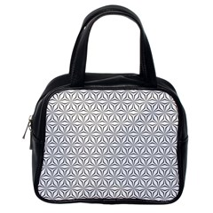 Seamless Pattern Monochrome Repeat Classic Handbags (one Side)