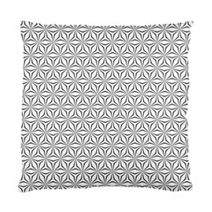Seamless Pattern Monochrome Repeat Standard Cushion Case (one Side)