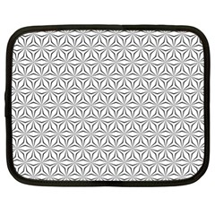 Seamless Pattern Monochrome Repeat Netbook Case (xl)