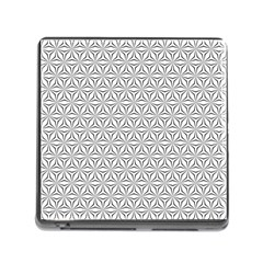 Seamless Pattern Monochrome Repeat Memory Card Reader (square)