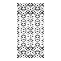 Seamless Pattern Monochrome Repeat Shower Curtain 36  X 72  (stall)