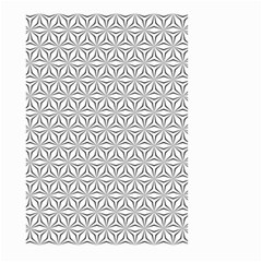 Seamless Pattern Monochrome Repeat Large Garden Flag (two Sides) by Nexatart