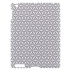 Seamless Pattern Monochrome Repeat Apple Ipad 3/4 Hardshell Case