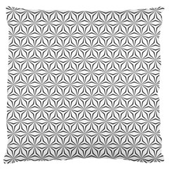 Seamless Pattern Monochrome Repeat Large Cushion Case (one Side)