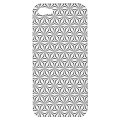 Seamless Pattern Monochrome Repeat Apple Iphone 5 Hardshell Case by Nexatart
