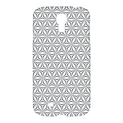 Seamless Pattern Monochrome Repeat Samsung Galaxy S4 I9500/i9505 Hardshell Case