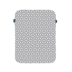 Seamless Pattern Monochrome Repeat Apple Ipad 2/3/4 Protective Soft Cases by Nexatart