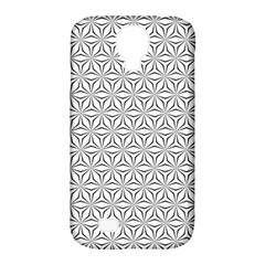 Seamless Pattern Monochrome Repeat Samsung Galaxy S4 Classic Hardshell Case (pc+silicone)