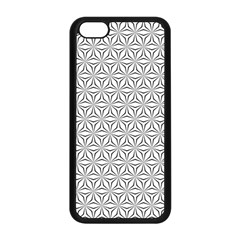 Seamless Pattern Monochrome Repeat Apple Iphone 5c Seamless Case (black)