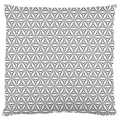 Seamless Pattern Monochrome Repeat Standard Flano Cushion Case (one Side)