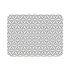 Seamless Pattern Monochrome Repeat Double Sided Flano Blanket (mini)  by Nexatart