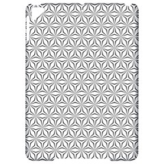 Seamless Pattern Monochrome Repeat Apple Ipad Pro 9 7   Hardshell Case by Nexatart