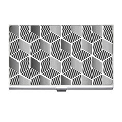 Cube Pattern Cube Seamless Repeat Business Card Holders