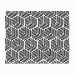 Cube Pattern Cube Seamless Repeat Small Glasses Cloth by Nexatart