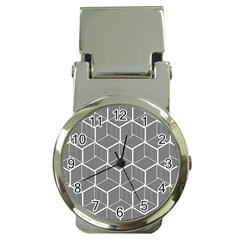Cube Pattern Cube Seamless Repeat Money Clip Watches by Nexatart