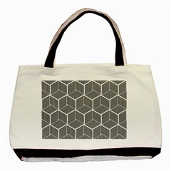 Cube Pattern Cube Seamless Repeat Basic Tote Bag (two Sides)