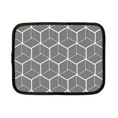 Cube Pattern Cube Seamless Repeat Netbook Case (small)