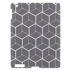 Cube Pattern Cube Seamless Repeat Apple Ipad 3/4 Hardshell Case